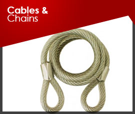 CABLES & CHAINS