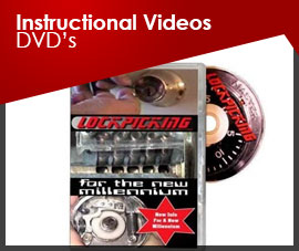 INSTRUCTIONAL VIDEOS DVD's