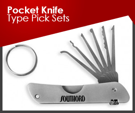 POCKET KNIFE TYPE PICK SETS