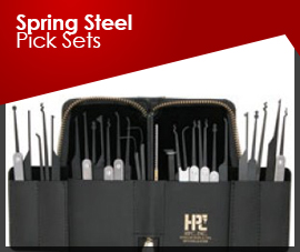 SPRING STEEL PICK SETS