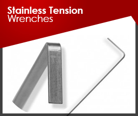 Stainless Steel Tension Wrenches