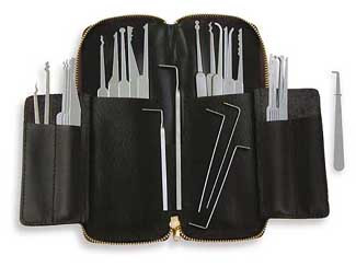 Thirty-Two Piece Lock Pick Set - MPXS-32