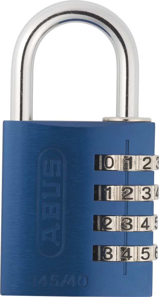how to open a combination padlock