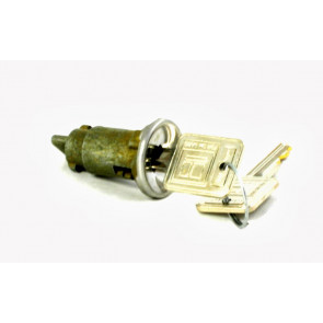 GM Ignition Lock In-Dash 1966-1979(Coded)(Chrome)