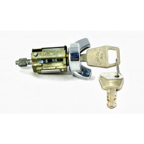 Ford Ignition Lock 1979-1988 W/Wire LD(Coded)(Chrome)