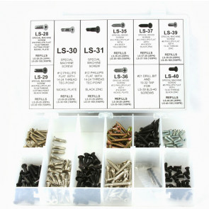 Locksmith's Screw Assortment (Oversize Repair Screws)