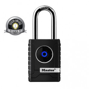 2-7/32in (56mm) Wide Bluetooth Smart Padlock -by Master Lock