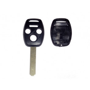 Honda 4 Button Remote Head Shell (w/chip compartment)