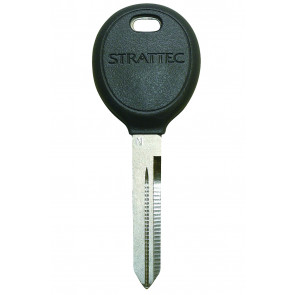 Chrysler (Y165) Plastic Key Head w/ Strattec Logo -by Strattec