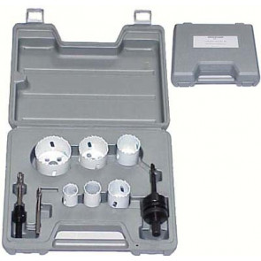 BROCKHAGE® Locksmith's Hole Saw Kit