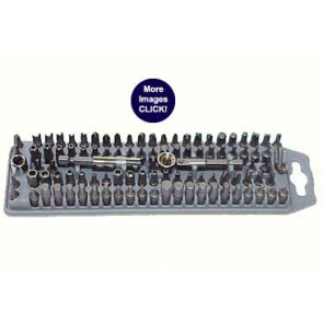100 Pc. Tamper Proof Screw Bit Set