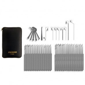 Seventy-Four Piece Slim Line Lock Pick Set - C6010