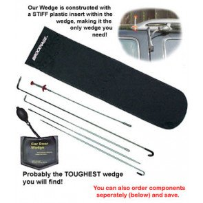 BROCKHAGE® Complete Car Door STIFF Wedge Kit