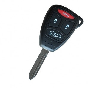 Chrysler/Jeep/Dodge 4 Button Remote Head Key