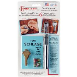 Change-A-Lock Kit for Schlage/ Baldwin