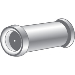 """EDV-100: 160º 1/2"""" SMALL DOOR VIEWER - POLISHED BRASS FINISH"""