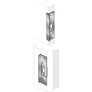 ELP-120: T-STYLE LATCH PROTECTOR - BRASS FINISH