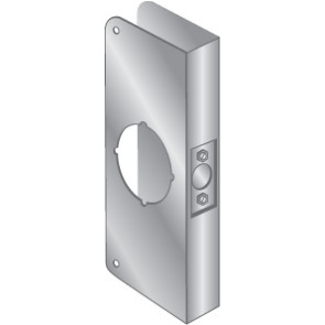 """WRAP PLATE 2-1/8"""" BORE EWP-123-STAINLESS STEEL"""
