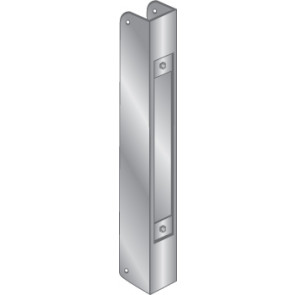 WRAP PLATE EDGE GUARD - STAINLESS STEEL, EWP-232-S