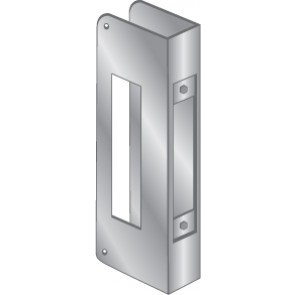 WRAP PLATE MORTISE-STAINLESS STEEL, EWP-251-S