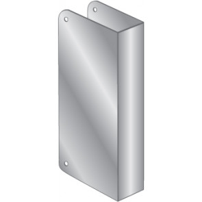 WRAP PLATES BLANK - STAINLESS STEEL