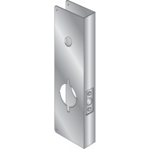 WRAP PLATE FOR MARKS IQ - STAINLESS STEEL, EWP-542-S