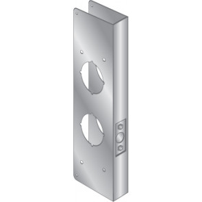 WRAP PLATE FOR MAS HAMILTON POWER LEVERS - STAINLESS STEEL, EWP-545-S