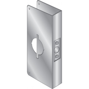 WRAP PLATE FOR SARGENT 6500 SERIES - STAINLESS STEEL, EWP-671-S