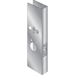 WRAP PLATE FOR SCHLAGE COBRA - STAINLESS STEEL, EWP-680-S
