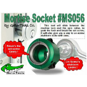 Gator Mortise Socket Tool