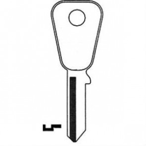 Honda Motorcycle Keyblank (HD67)