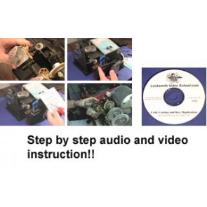 Basic Code Cutting and Key Duplication Course for Beginners(DVD)