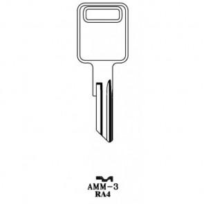 AMERICAN MOTORS- ALL Locks (Except Renault)- AeroLock TO-4 (RA4) 96pc. Try-Out Key Set