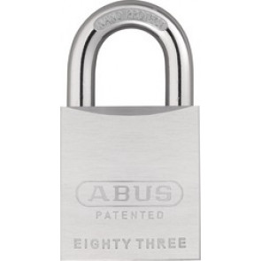 ABUS Rekeyable Chrome-Plated Brass Padlock 83/50-300 S2