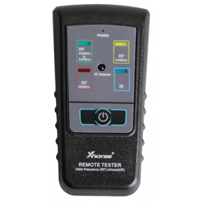 Xhorse Remote Control Tester - Radio Frequency (RF) & Infrared (iR)