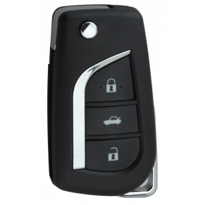 Toyota 3-Button Remote Flip Key -by Kee-Co