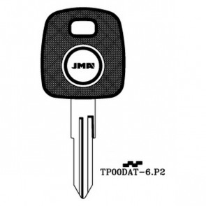 Transponder Key Shell (TP00DAT-6-P2)
