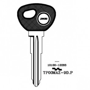 Transponder Key Shell (TP00MAZ-9D-P)