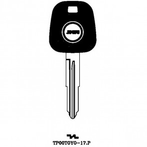 Transponder Key Shell (TP00TOYO-17-P)