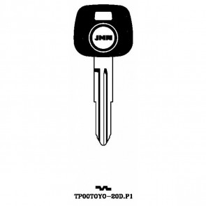 Transponder Key Shell (TP00TOYO-20D-P1)
