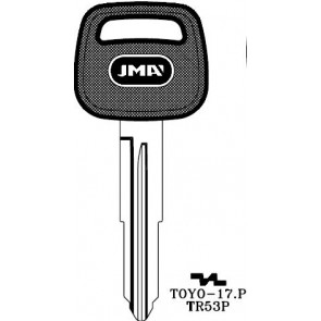 TOYO-17 transponder key
