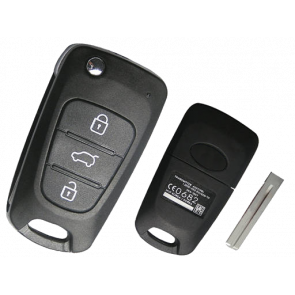 Hyundai ix35 3-Button Flip Remote Key -by Kee-Co