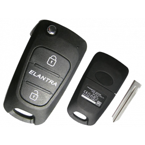 Hyundai Elantra Remote Flip Key -by Kee-Co