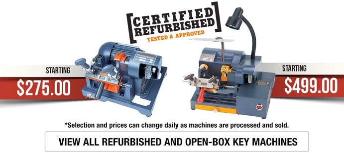 Refurbished Key Machines