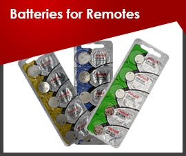 Batteries for Remotes