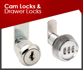 CAM LOCKS & DRAWER LOCK