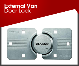 EXTERNAL VAN DOOR LOCKS