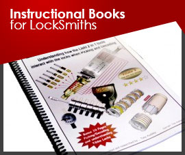 INSTRUCTIONAL BOOKS FOR LOCKSMITHS
