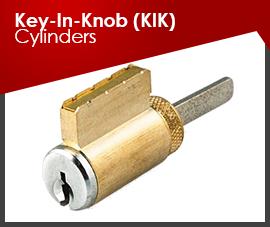 KEY-IN-KNOB (KIK) CYLINDERS