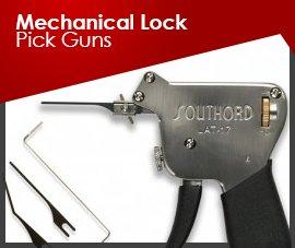 Mechanical Lock Pick Guns